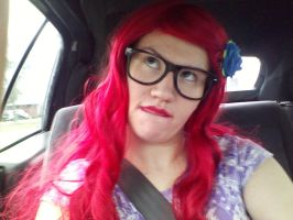 Hipster Ariel: What was that word again? by SabinaRose5