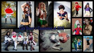 Lala Dawn's Costumes of 2013 by NovemberCosplay