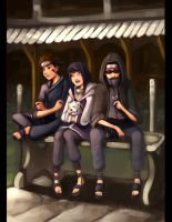 Peaceful Day Naruto Team 8 by Cloud-07
