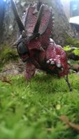 Pentaceratops is startled. by Gorpo