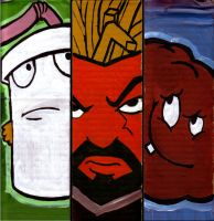 ATHF Cardboard by L-MakesArt