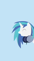 Vinyl Scratch iPhone 6 Wallpaper (No Shades) by rmc008