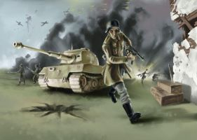 World War 2 by cardboardshark