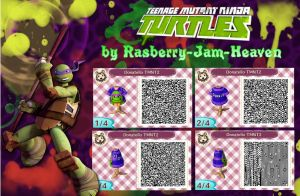 Teenage Mutant Ninja Turtles : Donatello QR code by Rasberry-Jam-Heaven