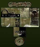 Oratorio CD package by anatheme
