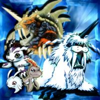 Gomamon Evolution by ChaoticAngel93
