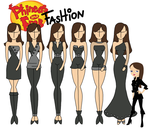Phineas and Ferb fashion: Vanessa by Willemijn1991
