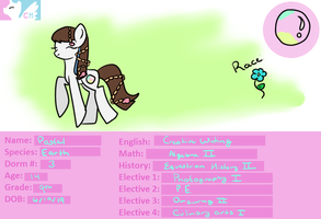Canterlot High Application/ID- Pastel Bubble by CandyKitttyGoesMeow