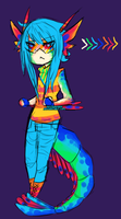 Mantis Shrimp dude by NotDamien