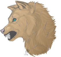 Asaria Sternenblut Headshot by BlackFireDeath