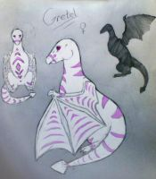 Gretel Reference Sheet -OLD- by TheDragonInTheCenter