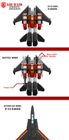 Fan of TF Sprite Redux AirRaid by theSpaniel