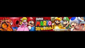 Super Mario 3D World One Channel Background by 88YoshiRocks