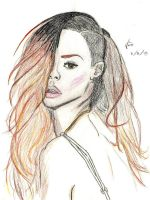 Rihanna (Rolling Stone Megazin Cover) by Vins22