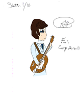 George Harrison 1966 Colored by koolkitty9