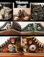 Pokemon Kicks by Miss-Melis