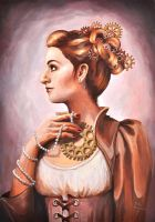 Steampunk Lady by lidia-art