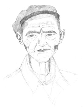 old guy by Shawnold