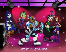 Teen Titans Club Contest Entry by CamT