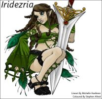 Iridezria Coloured by stephenallred