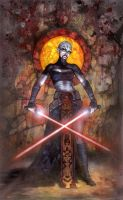 Star Wars: Asajj Ventress by TereseNielsen