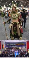 Impressions from London Comic Convention by Heliocyan