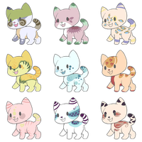 [Cat adopts 1 (6/9 OPEN)] by RallenLover293882883
