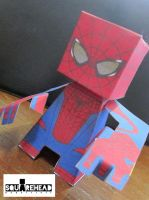 The Amazing Spider Man 2012 Movie Papercraft by jazzmellon