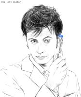 The 10th Doctor - My Doctor by Elyas11