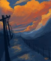 Mountain path by Noxmoony