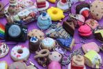 Polymer clay charms!~ by Teacharms