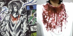 Bloody T-shirt Design by floriyon