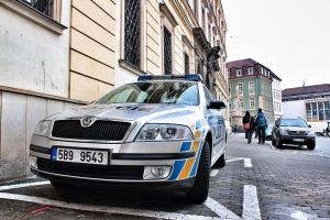 Czech Skoda Police Car by mGreenie