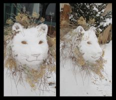 Snow Lion by Vamtaro