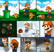 paper mario the true story by marshie-chan