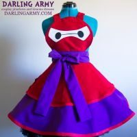 Armored Baymax Big Hero 6 Cosplay Pinafore by DarlingArmy