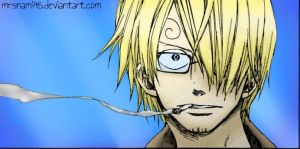 Sanji [2] -colored- by MrsNami95