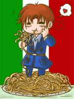APH - For the love of Pasta by MasterFranny