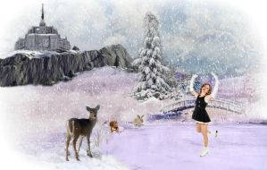 The Ice Skater by artistic-touches