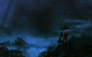 Cave Entrance Speedpaint by MissWiggle