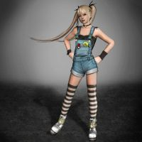 Dead Or Alive 5 Ultimate Marie-Rose Overalls by ArmachamCorp