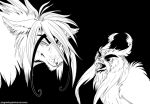 Daily Sketch 8/25/14: Sen and Athenos by Plaguedog