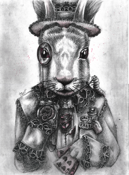 White Rabbit by Squiddosnazz