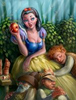 Snow white by Sophia-M