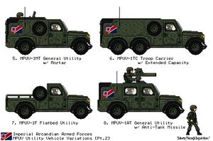 Arcandian Util. Vehicles - Pt.2 [JG - Cold War] by AdmiralSerenity