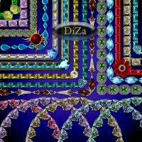 Frames with jewels by DiZa-74