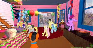 Derpy's Birthday 1 March 2012 by K4nK4n