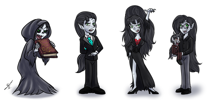 TtS Horror hosts by Twisted-Persona