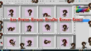 Hetalia: HetaOni Romano Shimeji Download by TionneDawnstar