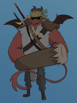 My Dungeons and Dragons character Nam by totalnonsense89